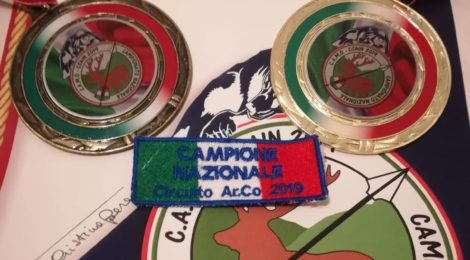 Campione Italiano Circuito Ar.Co 2019 e 3° posto femminile!